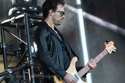 Josh Smith, bass, Halestorm