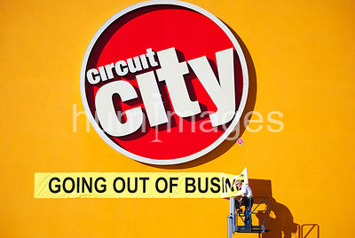 Going Out of Business Sign at Circuit City Store