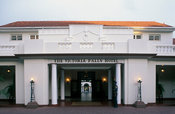 The Edwardian-style Victoria Falls hotel dates back from 1904, Victoria Falls, Zimbabwe