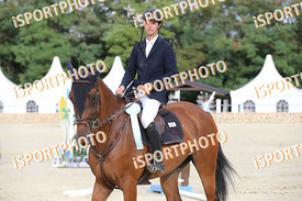 BASSAN Filippo (ITA) and BUPINA during LAKE ARENA - The Summer Circuit II, CSI2*, GRAND PRIX, 145 cm, 2017 August 27 - Wiener...