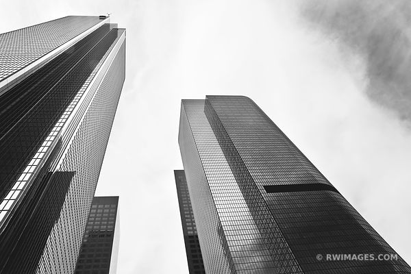 DOWNTOWN LOS ANGELES BLACK AND WHITE