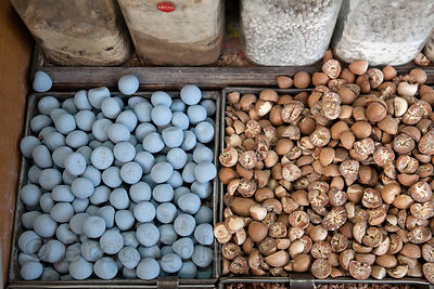 Unidentified goods at a market in Jodhpur, Rajasthan, India