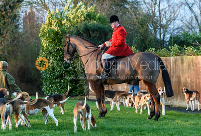 The Belvoir Hunt at Farrier's Forge 19/1