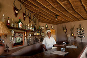 Bar, Mashatu Camp, Mashatu Game Reserve, Tuli Block, Botswana