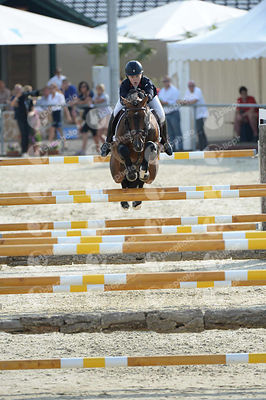 ALLEN Millie, (GBR), BALOU STAR during  competition at European Jumping Championship for Children, Juniors, Young riders at L...