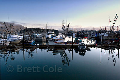 Early morning at the harbor, Cordova, Alaska