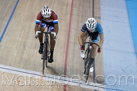 Master Women Sprint 1-2 Final. Canadian Track Championships, Mattamy National Cycling Centre, Milton, On, September 25, 2016