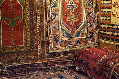 A room full of carpets, Grand Bazaar, Istanbul