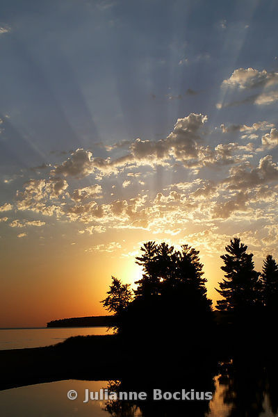 Lake Superior Sunrise (vertical)