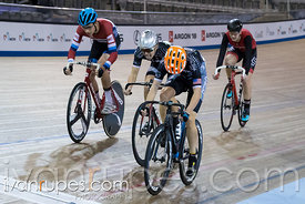 Junior Men Keirin 7-12 Final, 2017/2018 Track Ontario Cup #1, Mattamy National Cycling Centre, Milton On, December 10, 2017