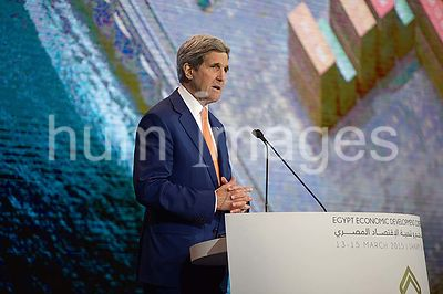 Secretary Kerry Addresses Audience of Several Thousand Attending Egyptian Development Conference in Sharm el-Sheikh