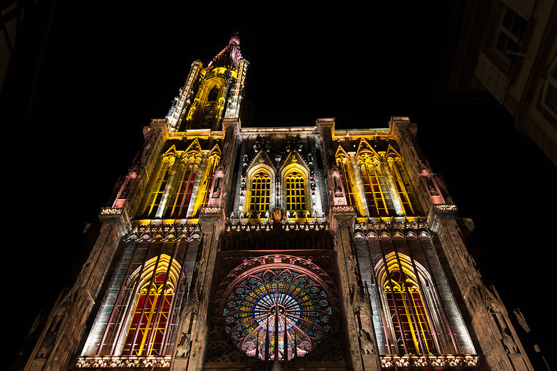Strasbourg: Illumination Cathedrale