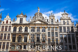 Guild Houses in the Grand Place in Brussels