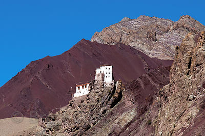 Extremely remote unnamed Gompa in Hemis High Altitude National Park, Ladakh, India