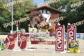 PUCK Gerfried (AUT) and BACHI during LAKE ARENA - The Summer Circuit II, CSI2*, GOOD BYE COMP, 140 cm, 2017 August 27 - Wiene...