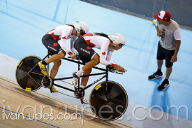 Mixed Individual Pursuit B  Qualification. Track Day 1, Toronto 2015 Parapan Am Games, Milton Pan Am/Parapan Am Velodrome, Mi...