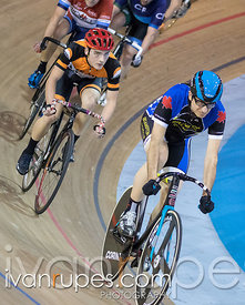 Cat 3 Men Points Race. Track O-Cup #2, Mattamy National Cycling Centre, Milton, On, January 15, 2017