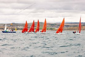 Squib start, Weymouth Regatta 2018, 201809081116.
