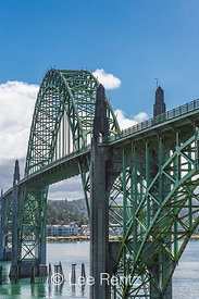 Yacquina Bay Bridge in Newport, Oregon