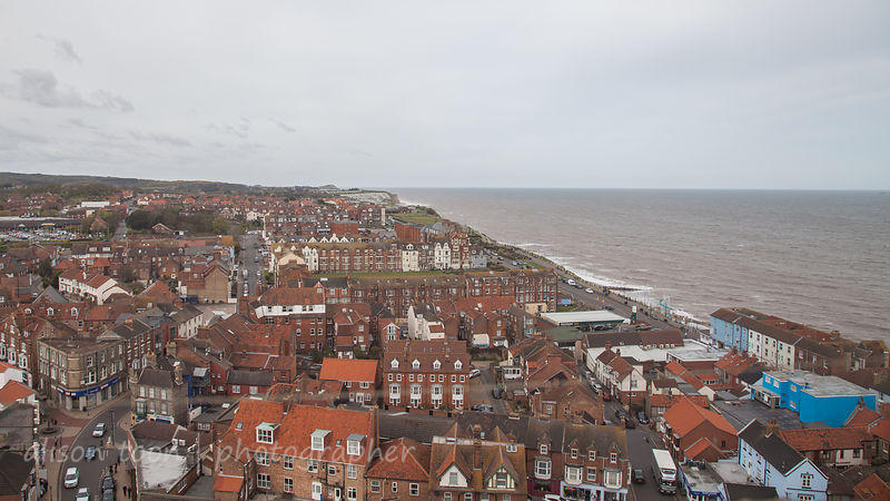 View from Cromer church tower
