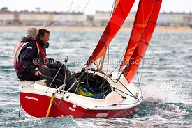 Racing in WhyBoats Weymouth Regatta 2018