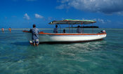 Tourist boat, Rodrigues