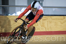 Master C Men Sprint Qualification. Ontario Track Provincial Championships, March 5, 2016
