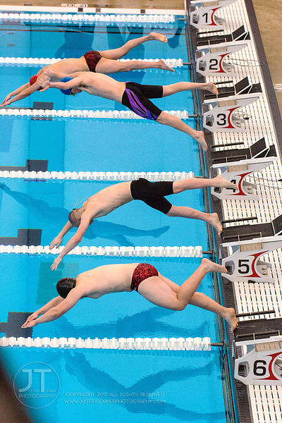 PC - Boys Swimming, Districts, Feb 7, 2015
