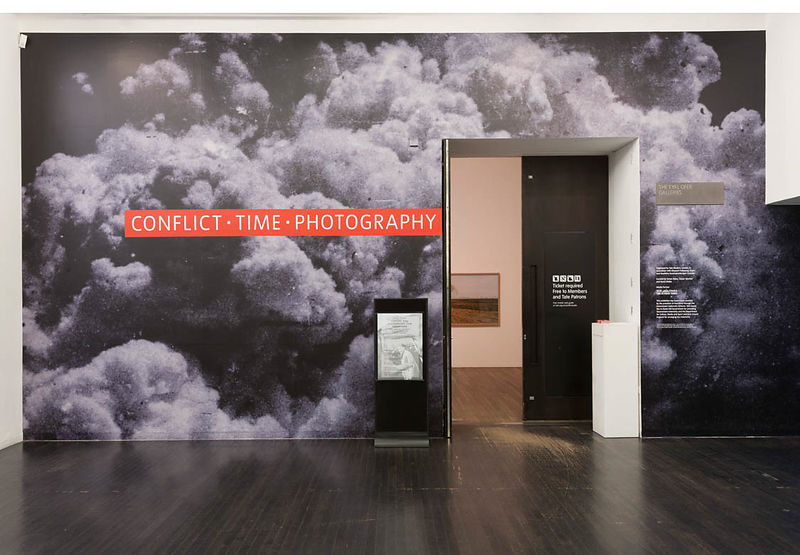 Entrance to Conflict, Time, Photography, The Eyal Ofer Galleries, Tate Modern, London, 26 November 2014-15 March 2015