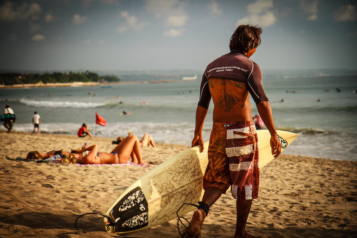Surfer @ Kuta Beach