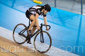 Master Women Team Sprint. Ontario Track Provincial Championships, March 6, 2016