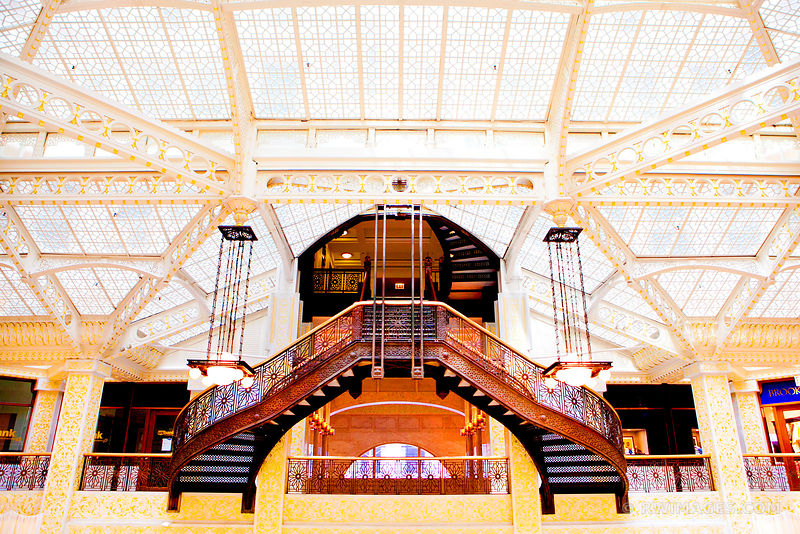 ROOKERY BUILDING CHICAGO ARCHITECTURE