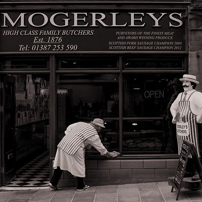 Butchers shop | Dumfries Scotland | 2014