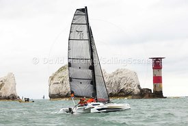 Dragonfly 25 Sport trimaran, Round the Island Race 2017, 20170701031