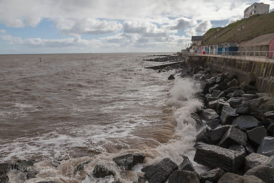 High Tide, Sheringham, Norfolk