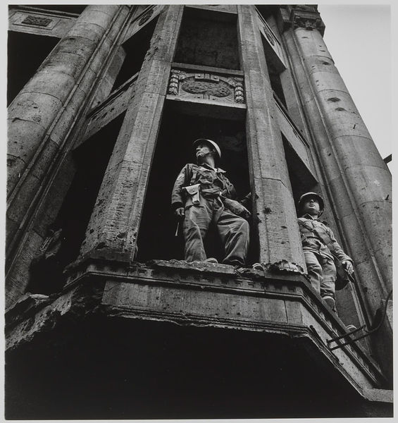 American Troops Looking across the Wall, Berlin 1961 by Don McCullin born 1935
