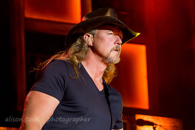 Trace Adkins and his band, Citrus Heights, 2013