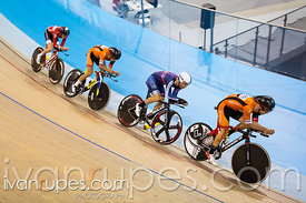 Men's team pursuit qualification. 2015 Canadian Track Championships, October 7, 2015