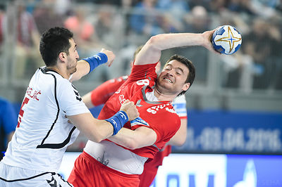 Rastko STOJKOVIĆ of MESHKOV BREST during the Final Tournament - Final Four - SEHA - Gazprom league, third place match, Varazd...