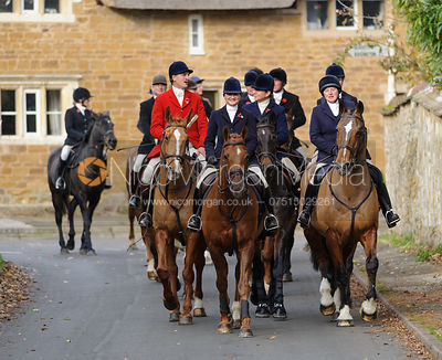 The Cottesmore Hunt at Manor Farm 11/11