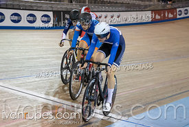Junior Men Keirin 1/2 Final. Ontario Track Championships, March 3, 2019
