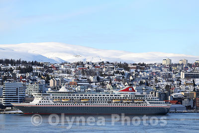 Cruise ship in Tromsø