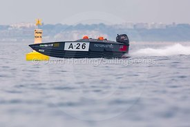 A-26, Fortitudo Poole Bay 100 Offshore Powerboat Race, June 2018, 20180610207