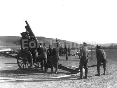 WWI antiaircraft weapons flak battery