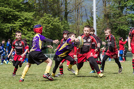Dimanche 20 avril 2014..Tournoi international de Villard Bonnot...© Images en Vue
