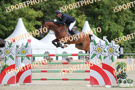 OTTENS Hans-Jörn (GER) and QUINTUS 133 during LAKE ARENA - Equestrian Summer Circuit I, CSI2* - Good bye comp.-145cm, 2018. 0...
