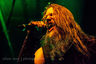 Johan Hegg, vocals, Amon Amarth, Ace of Spades, Sacramento