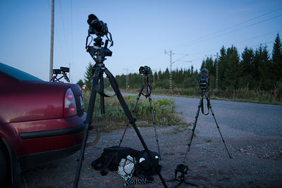 Perseids photography gear.2