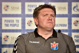 Sergey BEBESHKO of Meshkov Brest during the Final Tournament - Final Four - SEHA - Gazprom league, press conference, Croatia,...