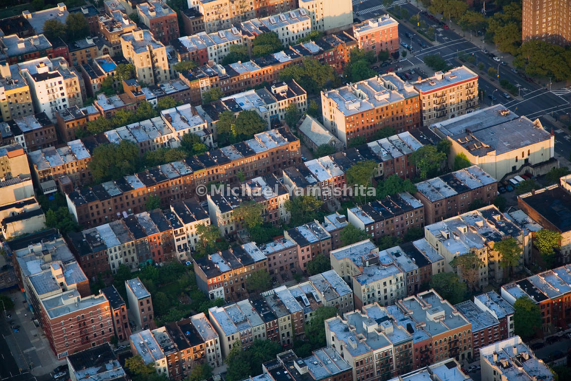Before the age of the skyscraper, densely packed row houses, no more than four or five stories tall, were the order of the da...